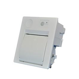 Panel mount printer